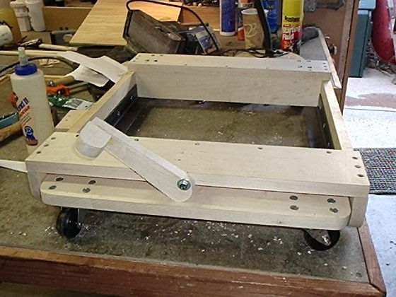 Mobile Workbenches For Garages : Lift top workbench google search diy pinterest