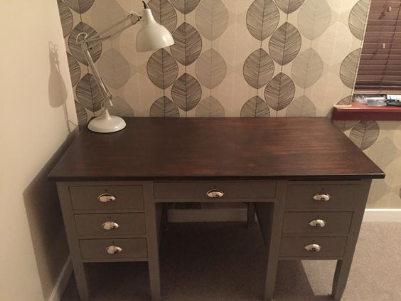 £15 up-cycled desk.