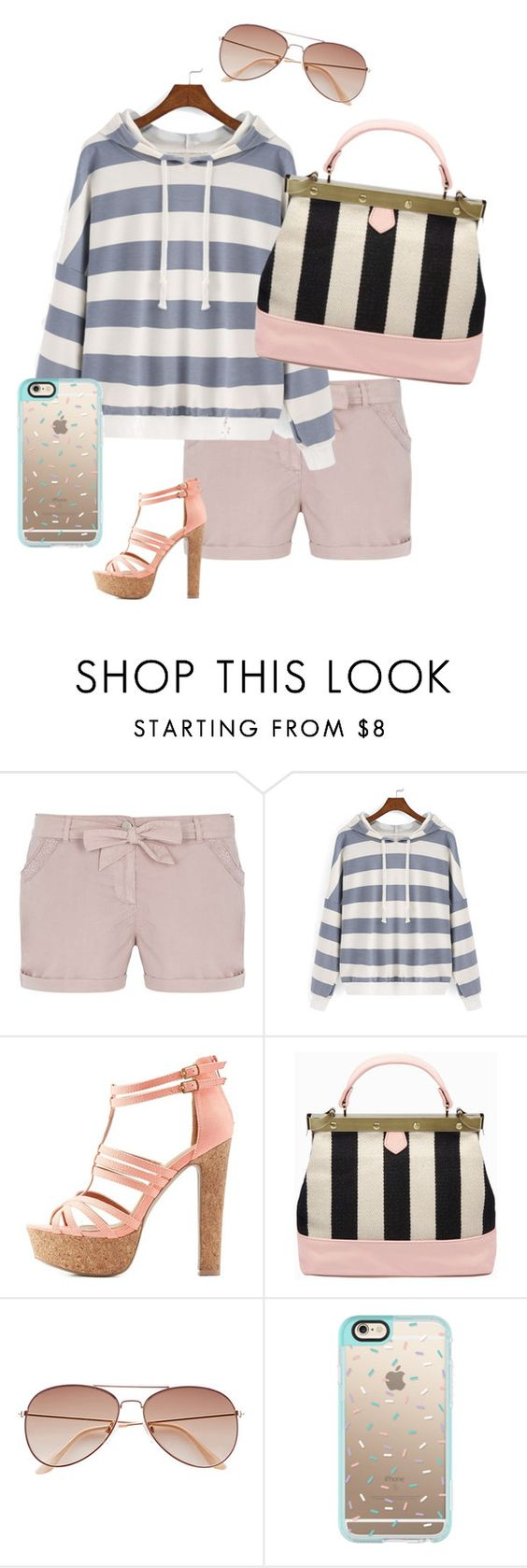 """""""Untitled #686"""" by beauty-lays-within on Polyvore featuring Dorothy Perkins, Charlotte Russe, H&M and Casetify"""