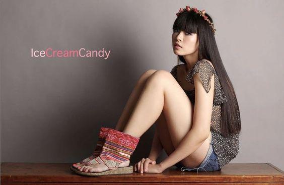 sandals by IceCreamCandy-size 8. $75.00, via Etsy.: Fav Etsy Creations, Icecreamcandy Size, Sandals, 75 00