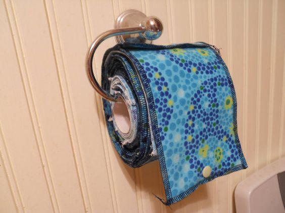 Cloth toilet paper...?