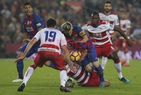 FC Barcelona, 1 - Granada, 0