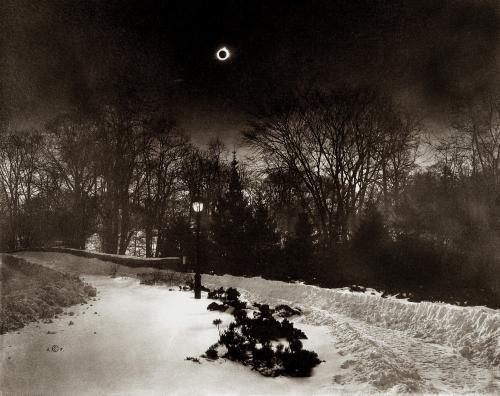Adolf Fassbender total eclipse,1925