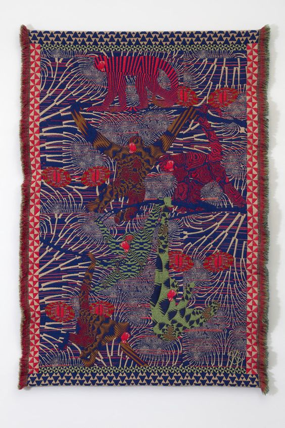 Apes  Psychedelic Tapestries by Kustaa Saksi