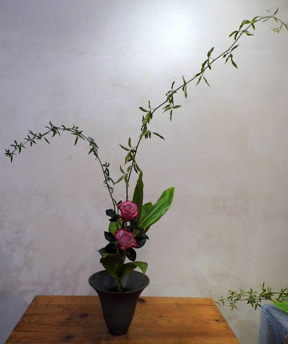 Ikebana Shin Seika roses
