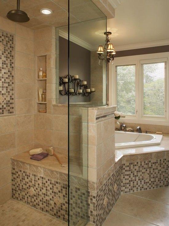 Bathroom Design, shampoo holders in shower
