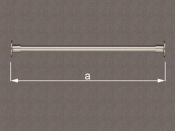 Kleiderstangen im zeitlosen, klassischen Design. Die Kleiderstange aus Edelstahl in I-Form. ULI-Garderoben passt die Längen exakt Ihren Bedürfnissen an. Die Ausführung der I-Form lässt eine Befestigung zwischen zwei Wänden zu. die I-Form kann also in einem Schrank oder zwischen zwei Mauern befestig werden.