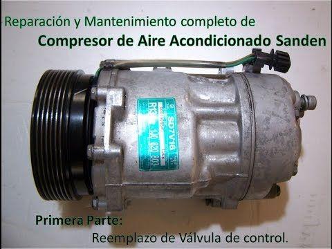 Válvula de control de compresor de aire acondicionado ¿para que sirve