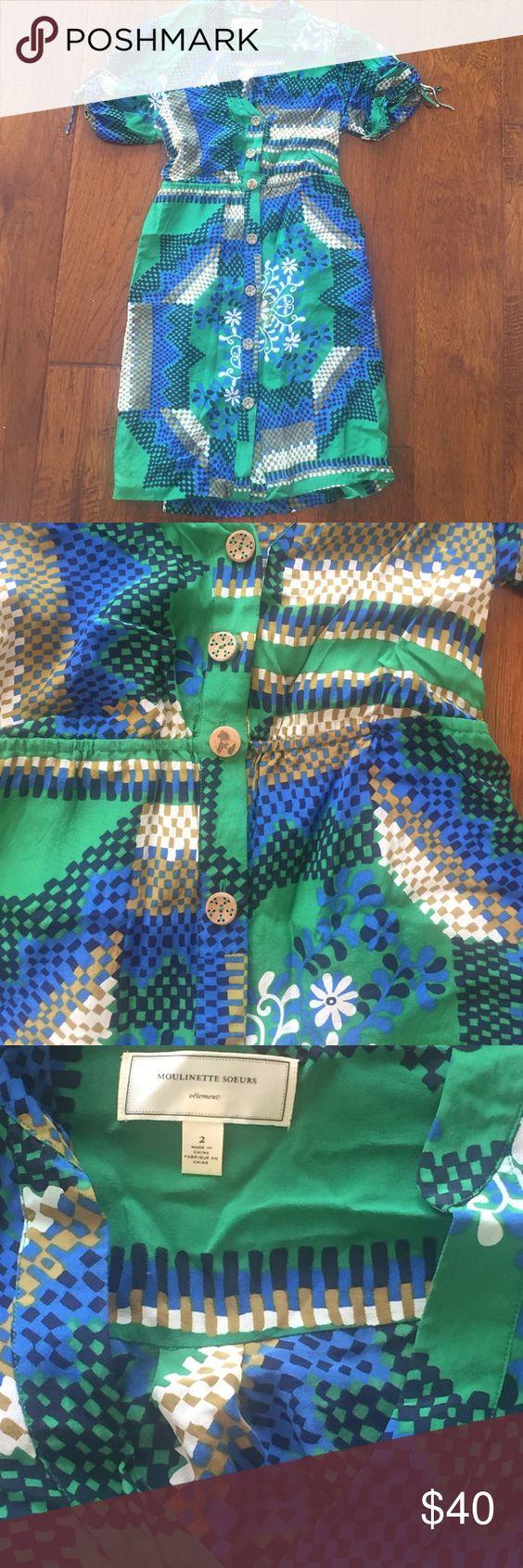 Anthropologie Moulinette Soeurs dress size 2. EUC Anthropologie Moulinette Soeurs dress size 2. EUC Anthropologie Dresses