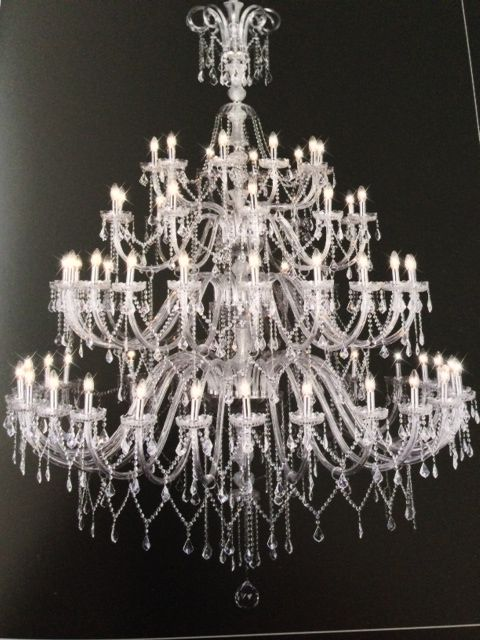 Murano Glass Crystal Chandelier For Chelsea Chandeliers By Wendy