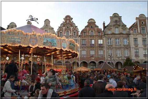 marché de Noël, Arras, Nord-Pas-de-Calais