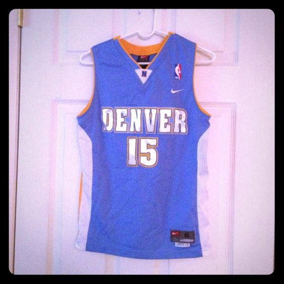 Carmelo Anthony Denver Nuggets Jersey sz small Nike jersey size small fits  women s xs s NWT Nike Tops a923f3afc4