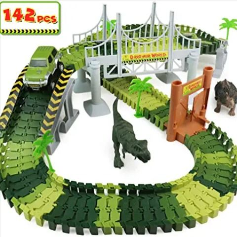 Idée Cadeau GarçOn 4 5 Ans Circuit Voiture Dinosaure | Idée Cadeau Noël | Cadeau garcon