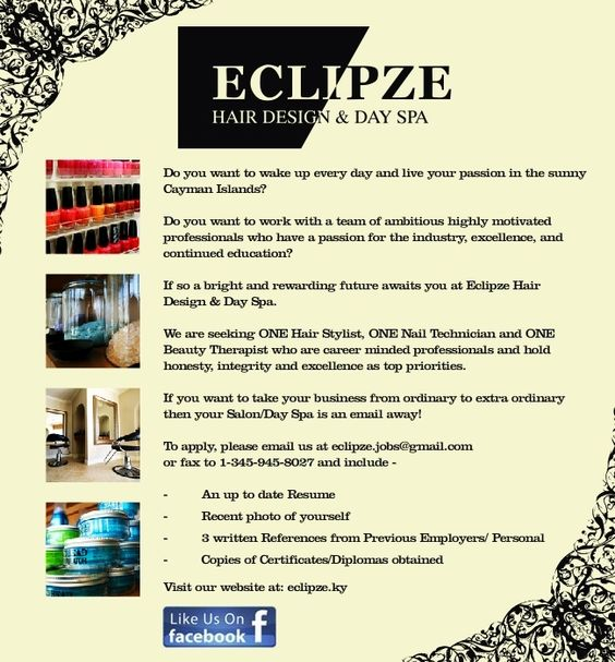 Hair-Recruitment - IN THE NEWS AT ECLIPZE Pinterest - beauty therapist resume