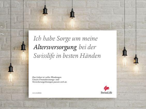 Ich habe Sorge um meine ALTERSVERSORGUNG bei der Swisslife in besten Händen #wendesatz