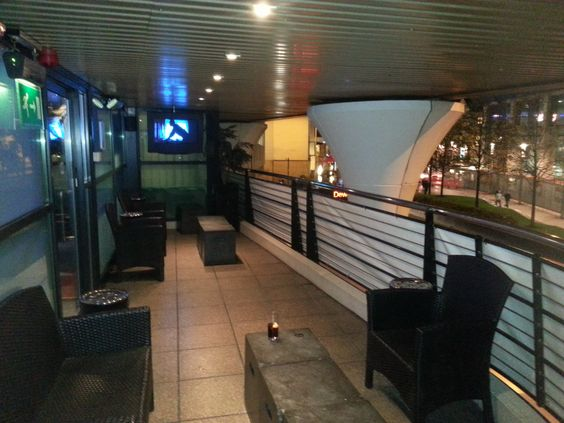 """If you need some """"fresh air"""", the air-lounge is where to find it!"""