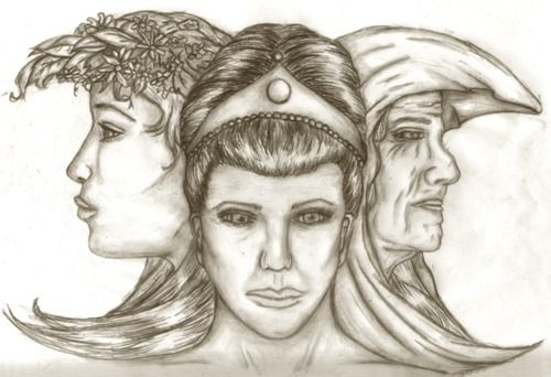 three goddess Here's an idea: cut the apple in three pieces, give a piece to each goddess, and say they're equal, but different better yet, destroy the stupid thing, tell the goddesses to get off their fat flanks and help the poor people for crying out loud.