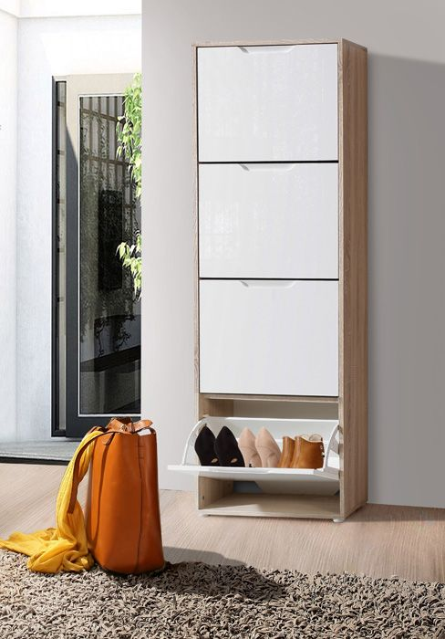 Mueble para zapatos zapatero 4 puertas mobelpark - Mueble para zapatos ...