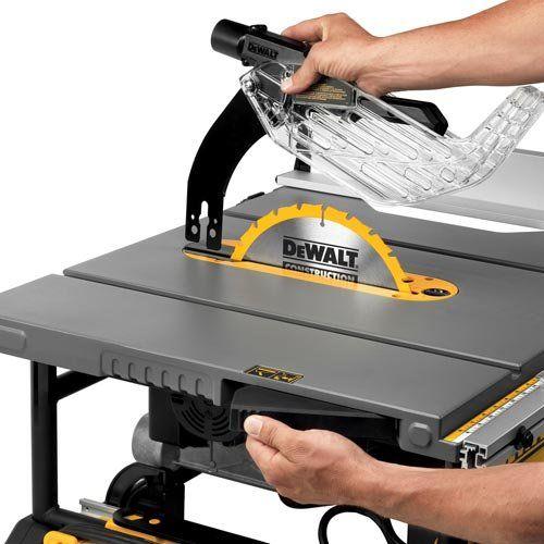 Dewalt Dwe7491rs 10 Jobsite Table Saw Removable Blade Guard Jobsite Table Saw Table Saw Reviews Dewalt