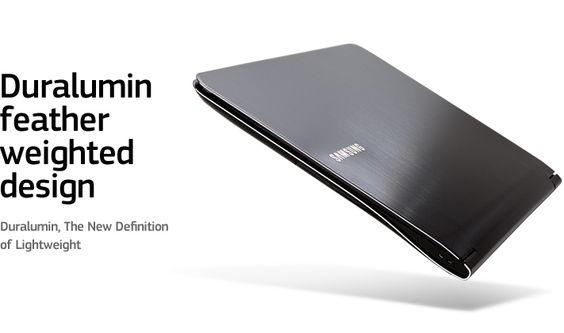 Duralumin, The New Definition of Lightweight.    Samsung Notebook 900X3A