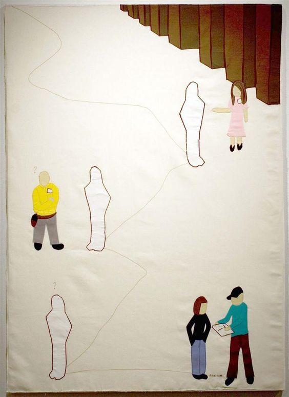 The Run Around by Stefrose Renner shown in the Open Door Gallery October 2010
