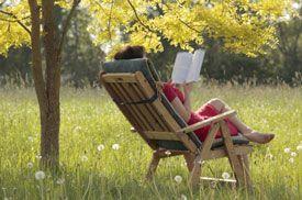 Image result for reading outside