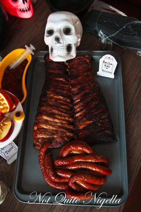 A ribs and entrails feast!