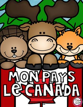 Mon Pays, Le Canada  Perfect for Social Studies! Combine writing and art to…