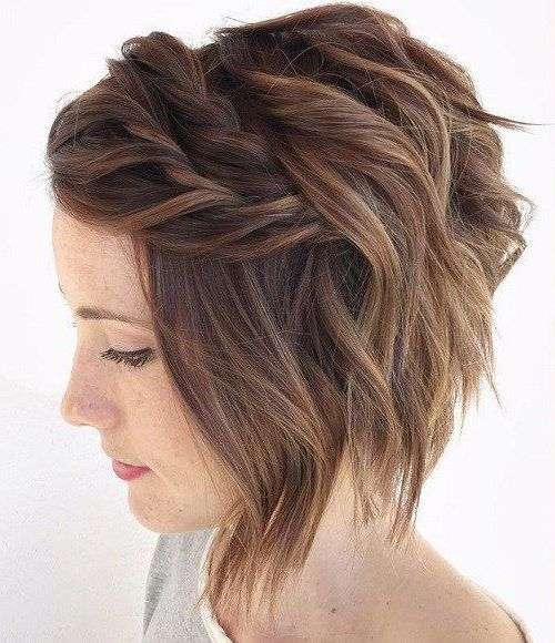43 Trendy And Easy Short Hairstyle For Prom And Work For Fall And Winter Short Hair Styles Easy Thin Hair Haircuts Prom Hairstyles For Short Hair