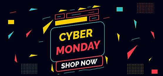 Cyber Monday Background In 2020 Cyber Event Poster Balloon Banner