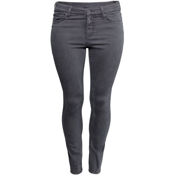 H&M  Slim Regular Jeans ($9.31) ❤ liked on Polyvore featuring ...