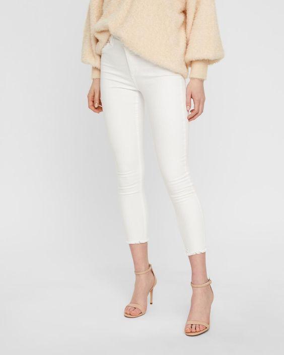 ONLY jeans - Skinny fit - Vit | Köp i dag hos STYLEPIT