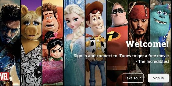 Disney Noticias Mexico: Disney Movies Anywhere