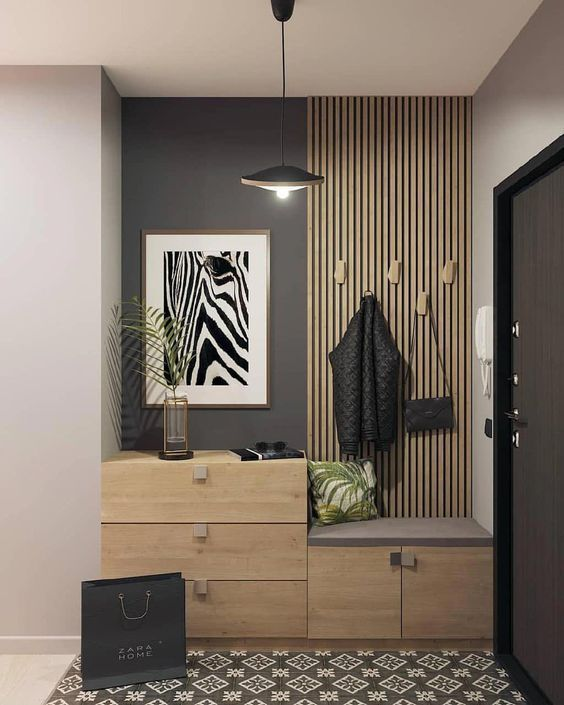 32 Awesome Entryway Decor Ideas That Make Your House Impressive Hcylife Blog Awesome Blo Home Entrance Decor Entryway Decor Small Home Interior Design