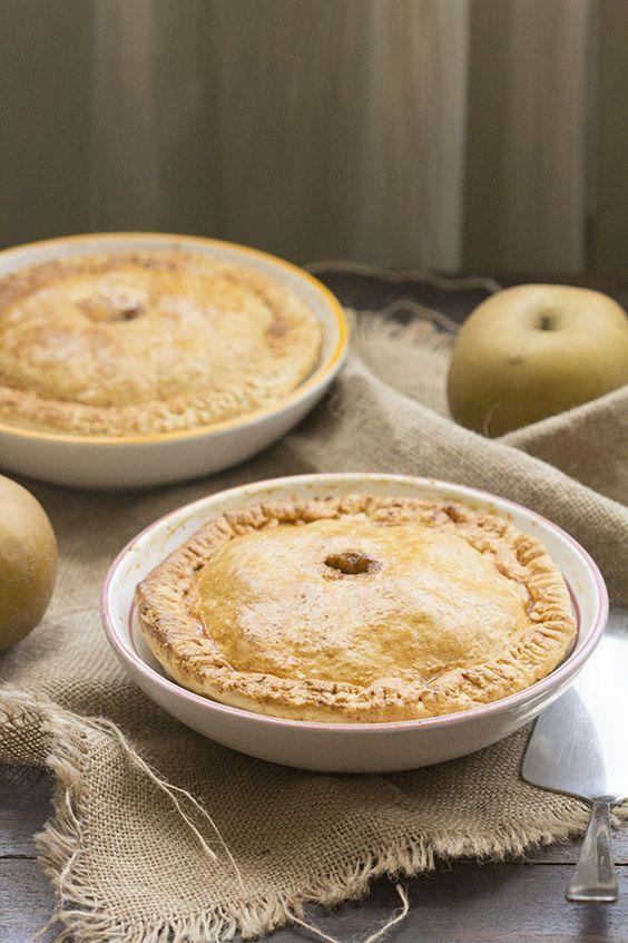 Cómo preparar Apple pie con Thermomix. Receta inglesa