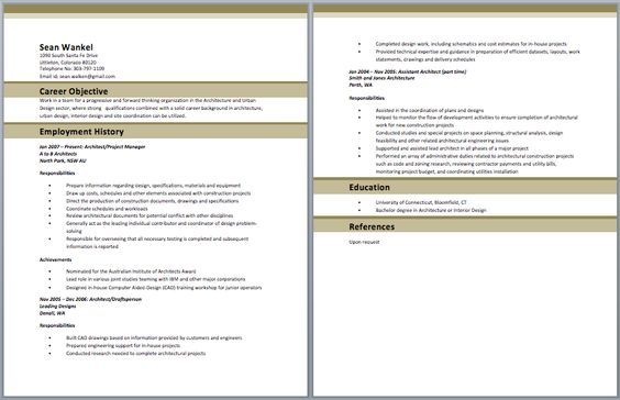 Superintendent Resume Resume Pinterest Sample resume - web architect sample resume