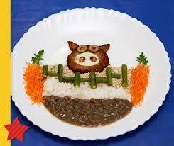 Resultado de imagem para pratos divertidos para crianças