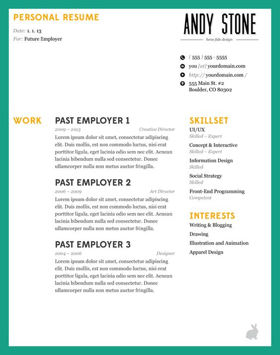how to make a resume good