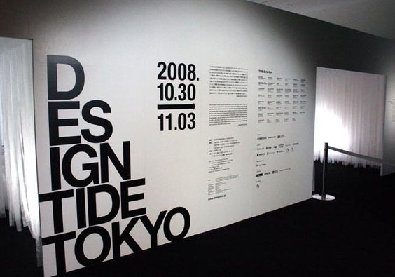 Signage Vinyl designs and Exhibition space on Pinterest