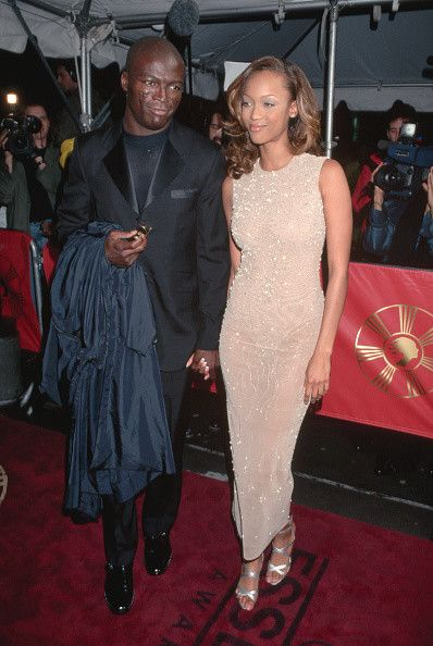Seal and Tyra Banks - Celebrity Couples You Totally Forgot About - Photos