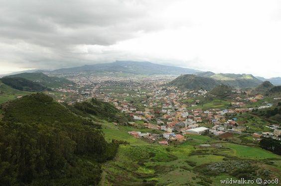 Las Mercedes, La Laguna, El Teide, Tenerife