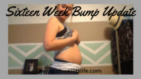 See my 16 weeks pregnant baby bump update at http://ohwellitslife.com/16-week-bump-update-2/