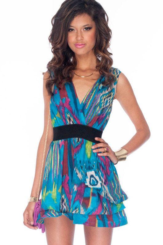 Double Down Dress: Pretty Dresses, Beauty Hair, Fashion Style, Woman Dresses, Hair Highlights