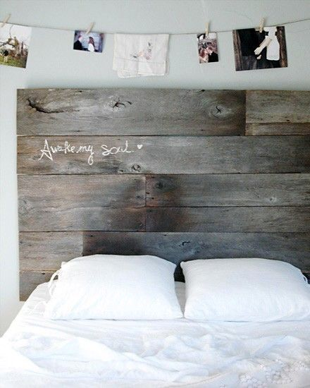 Shake My Blog  Best Of  Fabriquer une tête de lit e ~ Tete De Lit Bois Rustique