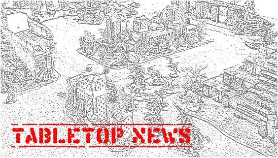 Tabletop im April – Neuigkeiten für Miniaturenschubser