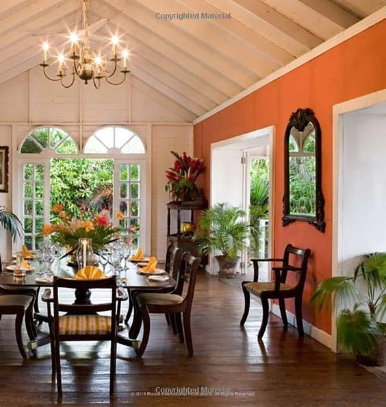 style west indies style michael o keefe british colonial coral accent