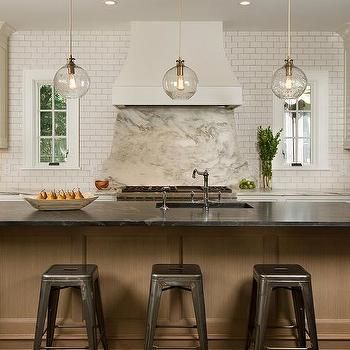 Jet Mist Granite Countertop Kitchen island lighting Pinterest