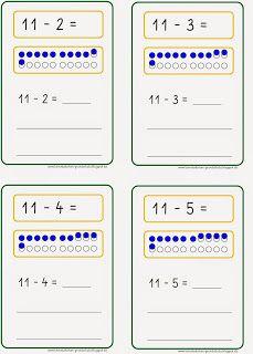 Lernstübchen: einzelne Aufgaben zum Minusrechnen