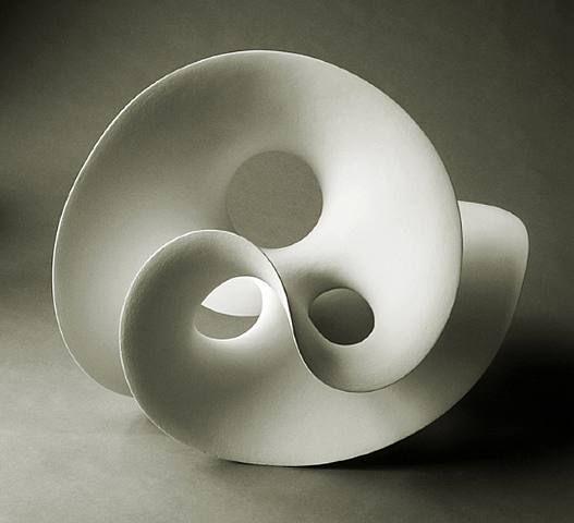 Eva Hild -organic ceramic form- This twisting ceramic form is very ...