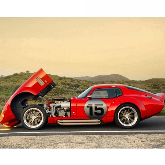 Shelby Gt Coupe: Supercharged Shelby Daytona. Should Probably Have Its Own